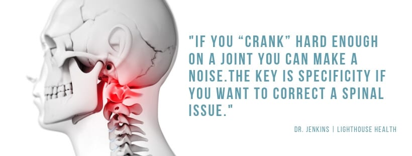 Specificity Quote How much life (and money) is your back pain and neck pain stealing from you?   Chiropractor Kelowna