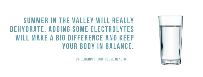 Electrolytes The top 10 things people do in the summer to get and stay healthy; Episode 2   Chiropractor Kelowna