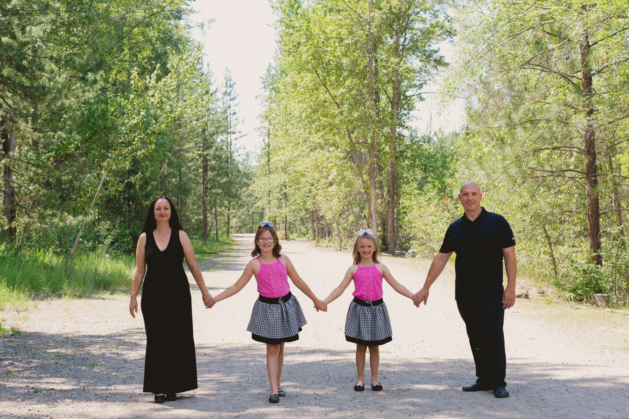 family pic at mission creek 1 Chiropractic Services   Chiropractor Kelowna